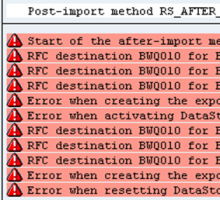 RFC destination for SAP BW is not maintained in source system