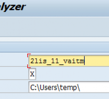 SAP Business Warehouse extractor and table analyzer