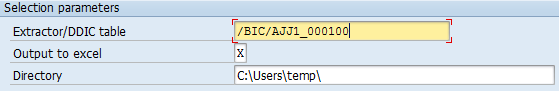 SAP Business Warehouse extractor and table analyzer in SAP BW